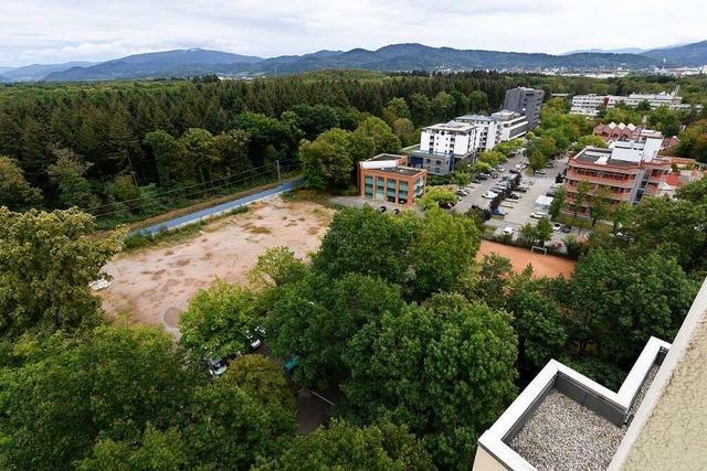 Bis in Freiburg-Landwasser 100 Wohnungen entstehen, dauert es noch eine Weile
