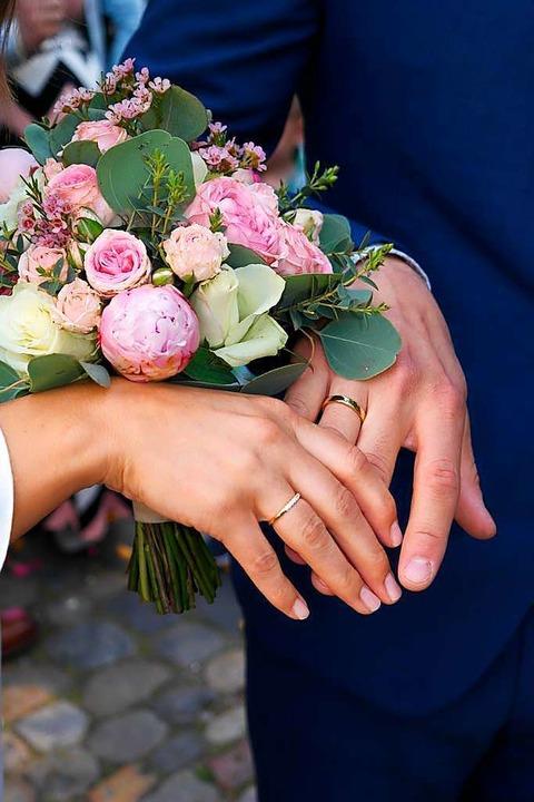Heiraten in der Pandemie  | Foto: Gerhard Walser