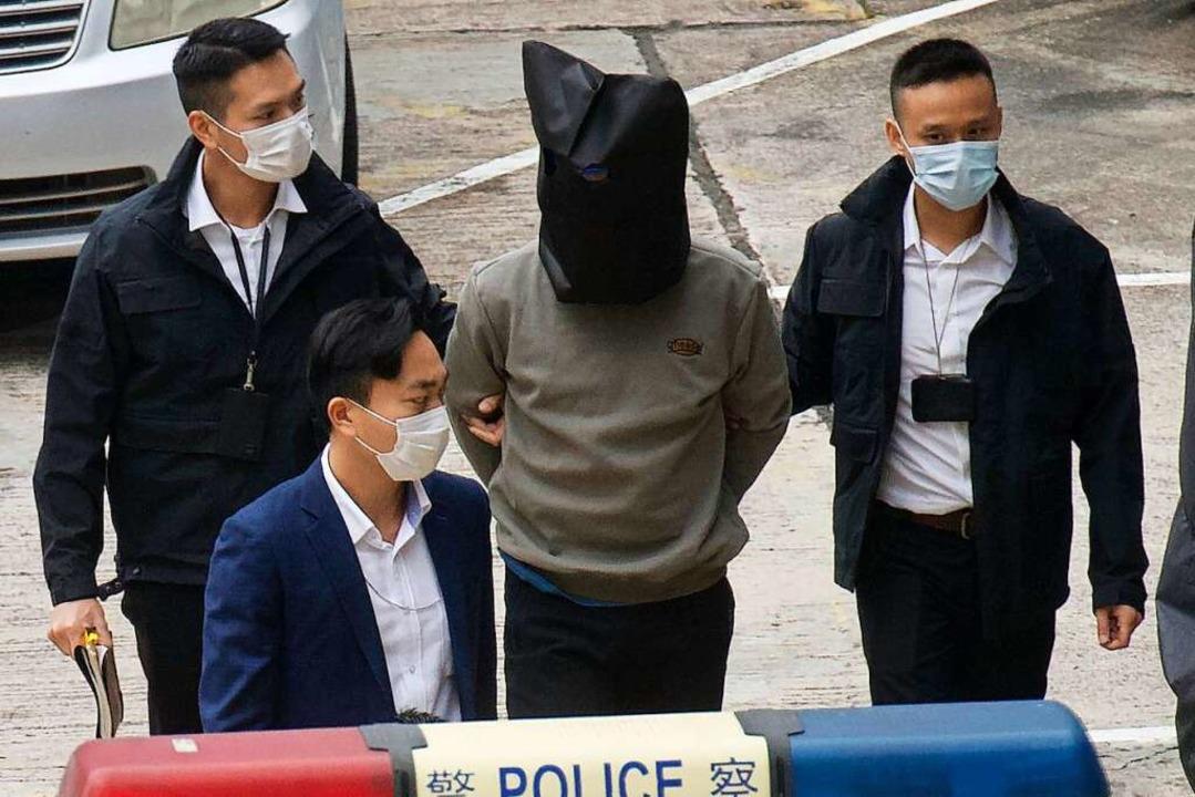 Immer wieder werden pro-demokratische  Aktivisten aus Hongkong verhaftet.  | Foto: Vincent Yu (dpa)