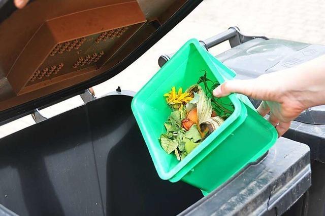 Die Abfallwirtschaft Lörrach will weniger Fremdstoffe im Biomüll haben