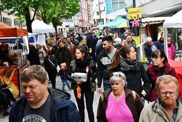 Das Frühlingsfest von Pro Lörrach wird auch in diesem Jahr abgesagt