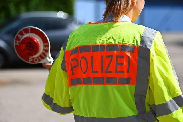 Polizei registriert in Lörrach 58 Verstöße bei Kontrollaktion
