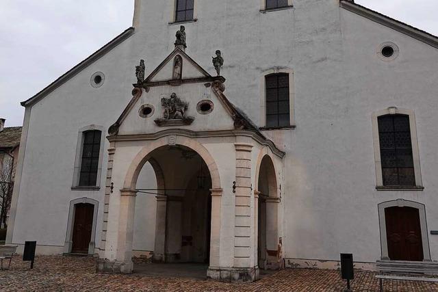 Die Stadtkirche im Schweizer Rheinfelden soll in neuem Glanz erstrahlen