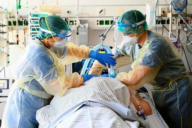 Die Zahl der Intensiv-Covid-Patienten in der Ortenau steigt an