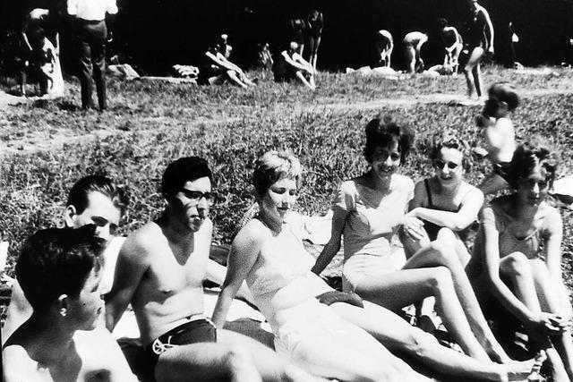 1963 hielt in Emmendingen der Bikini Einzug
