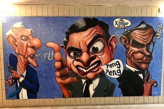 Kunst für den Untergrund