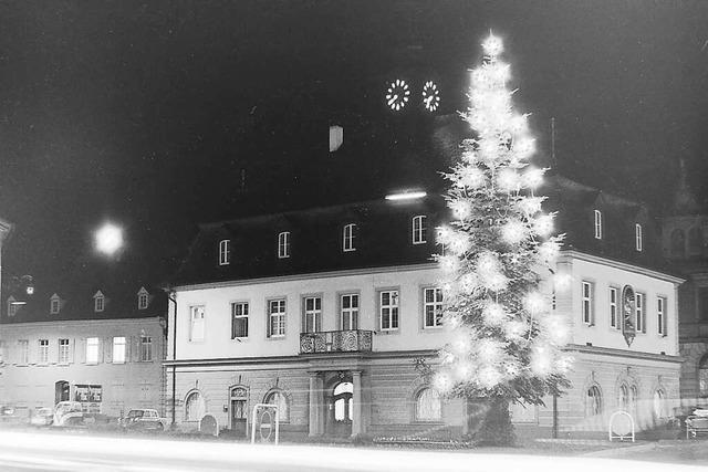 Emmendinger Lampen für den Weihnachtsschmuck
