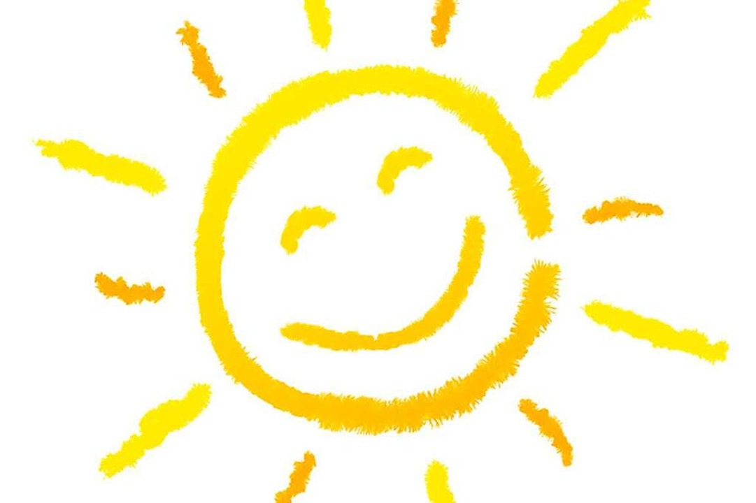 Lacht die Sonne, lacht auch der Mensch...ndwirt  wäre vielleicht  Regen lieber.    Foto:  nasared