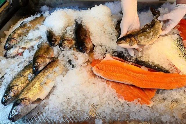 In Weil am Rhein gibt es nun einen Fischhändler