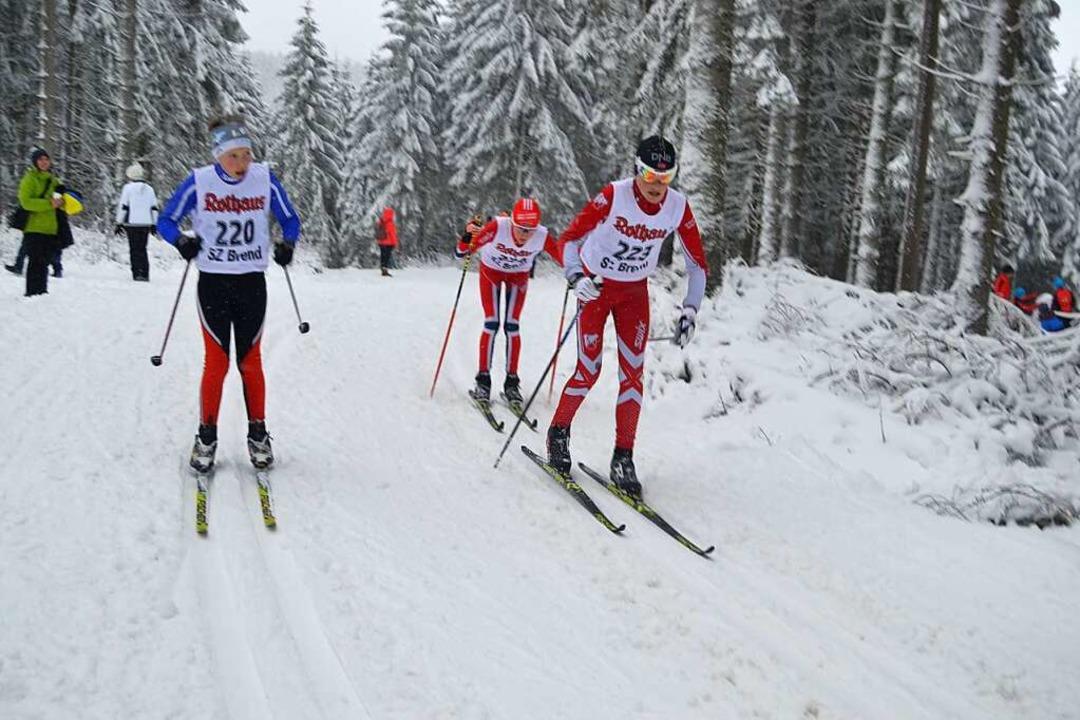 Sven Kolb (rechts) überzeugte bei Sichtungslehrgängen.  | Foto: Helmut Junkel