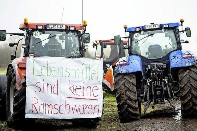 Handel geht auf Bauern zu