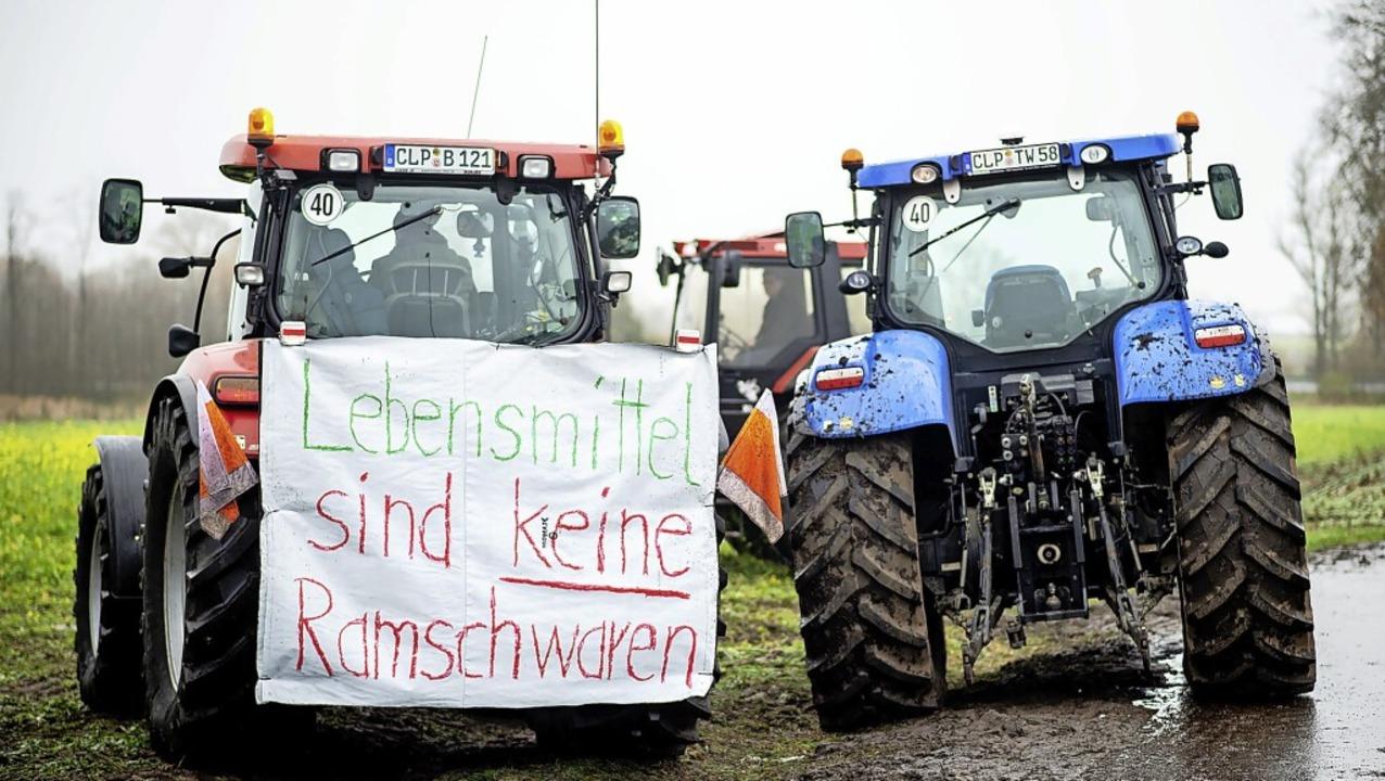 Der Protest zeigt Wirkung.    Foto: Hauke-Christian Dittrich (dpa)