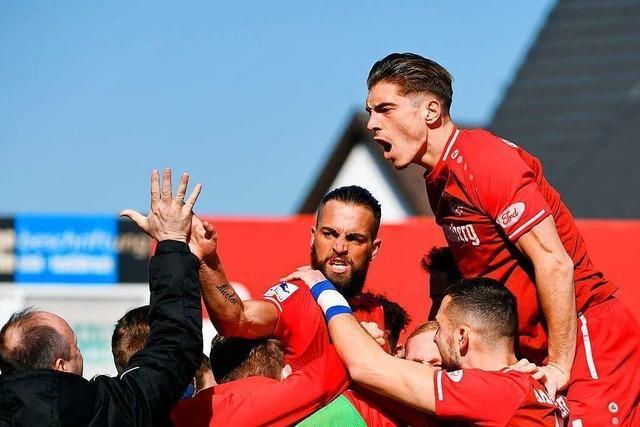 Nach Rückrotation dreht der Bahlinger SC dreht das Spiel in Alzenau