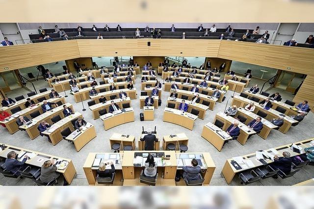 Baustelle Landtag
