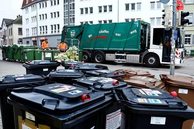 Müllabfuhr verschiebt sich in Freiburg wegen der Osterfeiertage