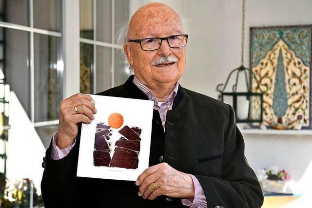 Gerhard Bender ist ein Pfarrer, der die Kunst liebt