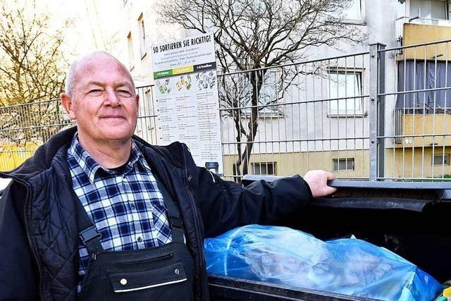 Mieter in Freiburg müssen doppelt für den Müll zahlen