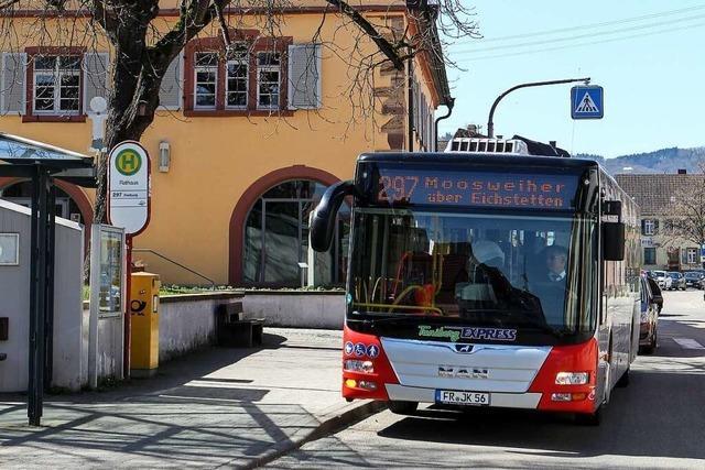 In Eichstetten sollen beide Buslinien wegfallen