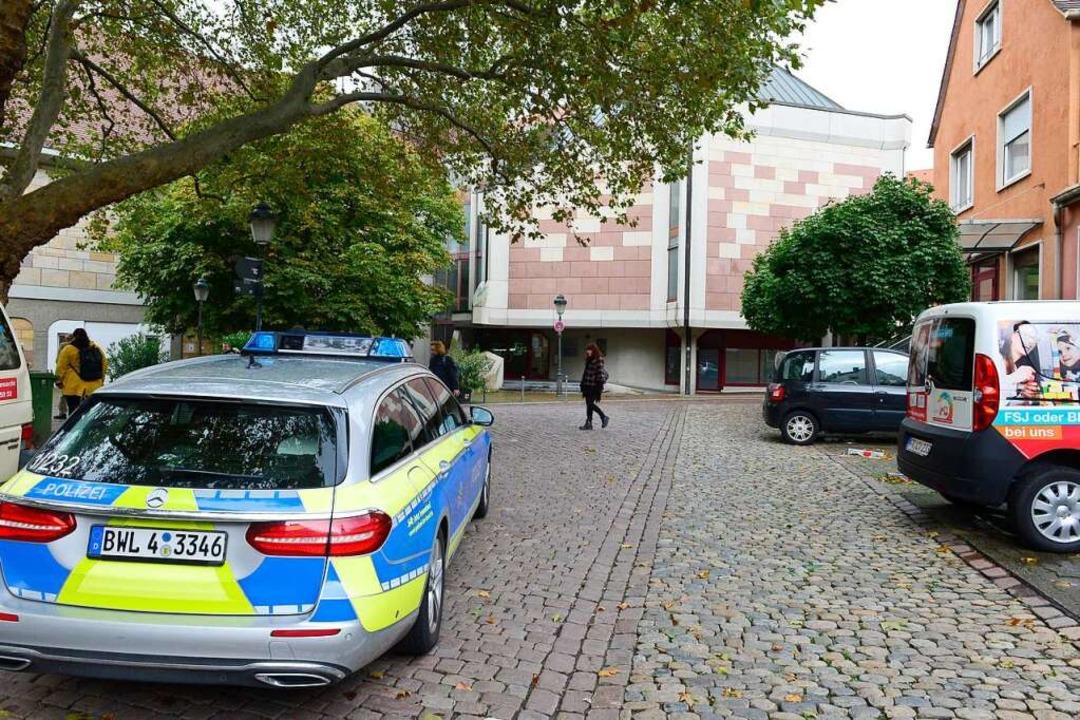 Die neue Synagoge in Freiburg  | Foto: Ingo Schneider