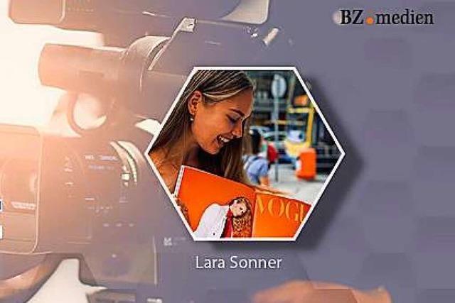 BZ-Talk mit Lara Sonner, die es als Model in die