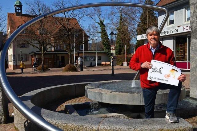 Gewerbeverein will mit Gutscheinen Unternehmen unterstützen
