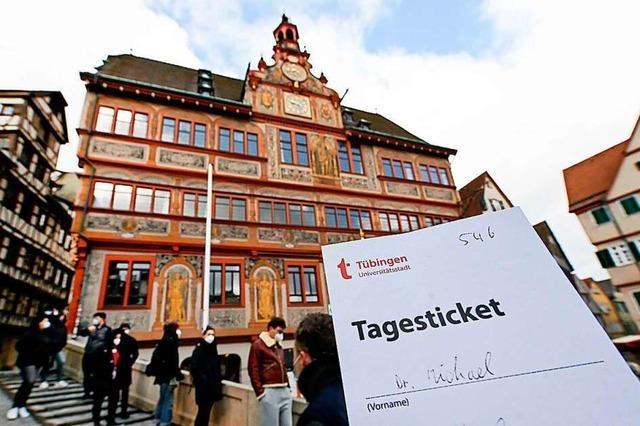 Auswärtige Gäste erhalten ab Donnerstag kein Tagesticket in Tübingen