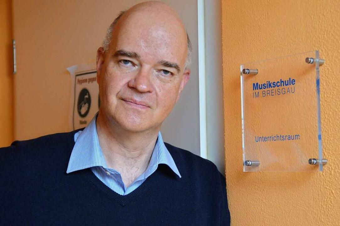 Lutz Thormann ist Leiter der Musikschule Breisgau.  | Foto: Sebastian Heilemann