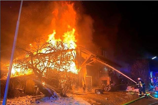 Bei Brand in Wiechs obdachlos gewordene Familie ist dankbar für die vielen Spenden