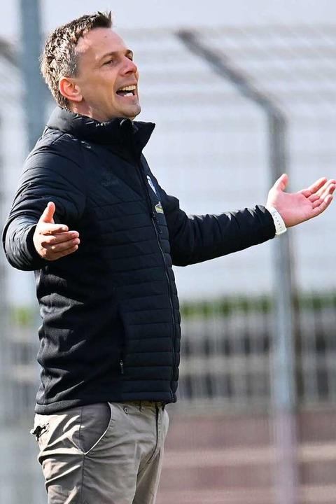Verlässt den Sportclub am Saisonende m...nntem Ziel: Trainer Christian Preußer.  | Foto: Achim Keller