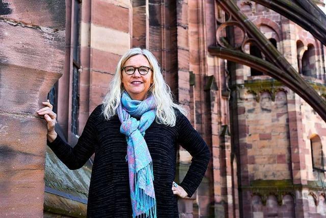 Yvonne Faller war 16 Jahre Münsterbaumeisterin in Freiburg