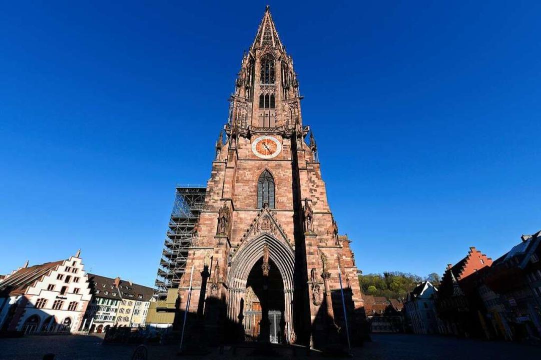 Der Turm des Freiburger Münsters hat eine Höhe von 116 Metern.    Foto: Thomas Kunz