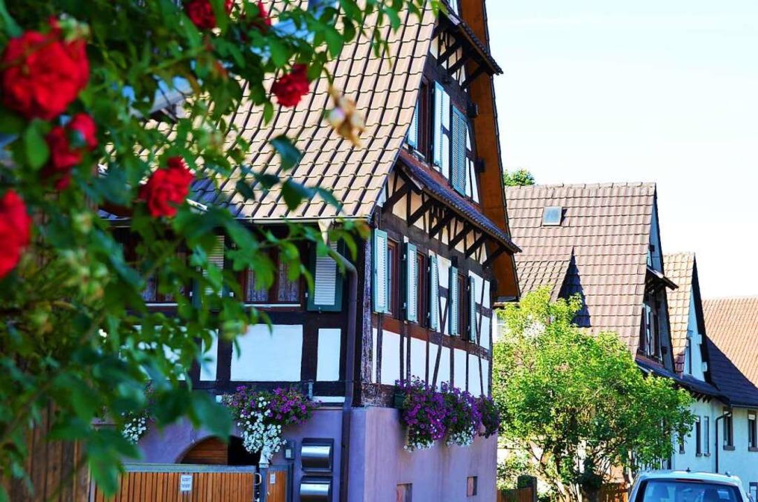 Fachwerkhaus in Vörstetten.    Foto: Kathrin Blum