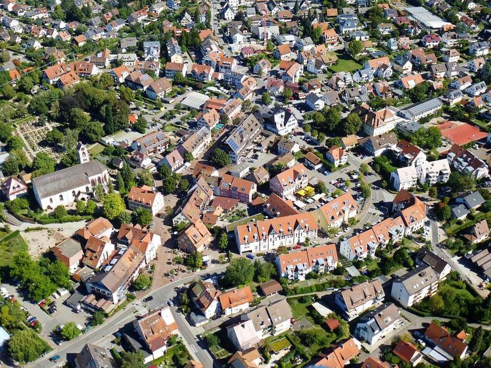 Ortskern von Kirchzarten.  | Foto: Volker Jung