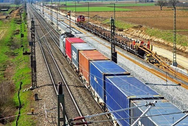 Rheintalbahn über Ostern zwischen Müllheim und Auggen zeitweise gesperrt