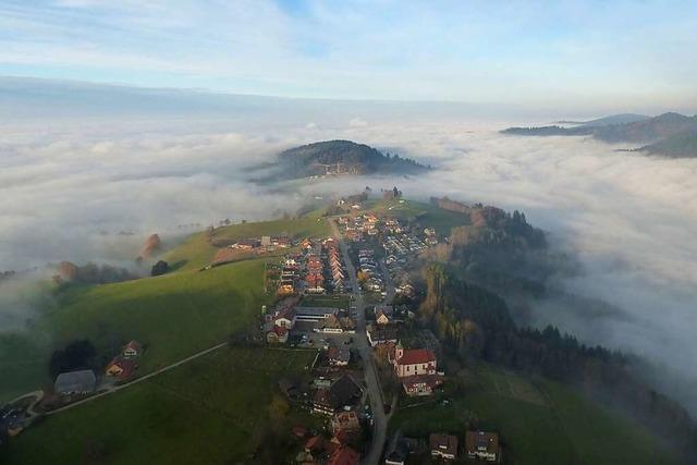 Horben – grüne Insel im Nebelmeer