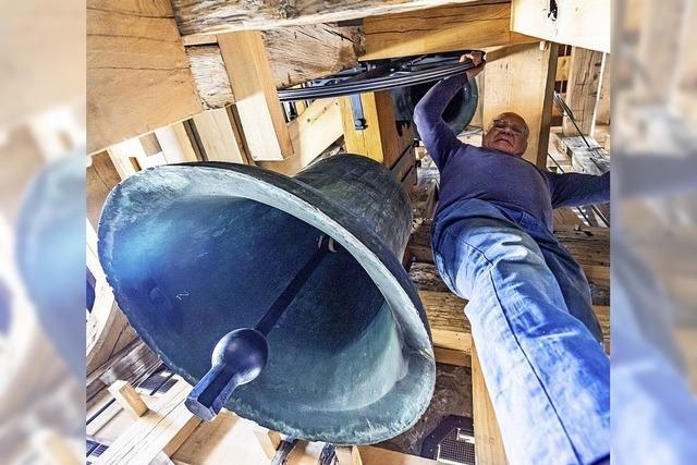 Die Glocken des Nordturms erklingen in der Osternacht