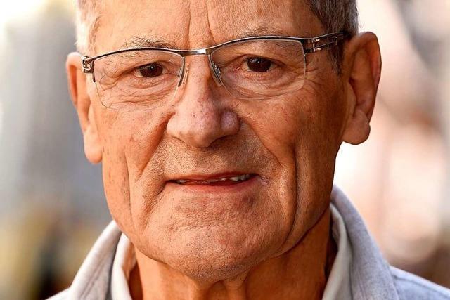 Günther Roth ist auch mit 83 noch jeden Tag in seinem Freiburger Laden