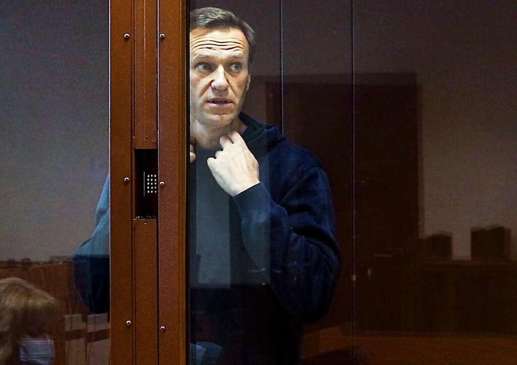 Nawalny fordert Hilfe  | Foto: Uncredited (dpa)