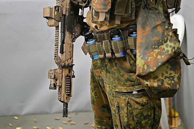 Ermittlungen gegen KSK-Kommandeur in Munitionsaffäre aufgenommen