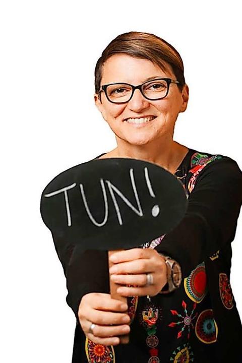 Kommunikationstrainerin Lena Sarikaya  macht Ihnen Mut und bringt Sie ins Tun!  | Foto: Michael Bode