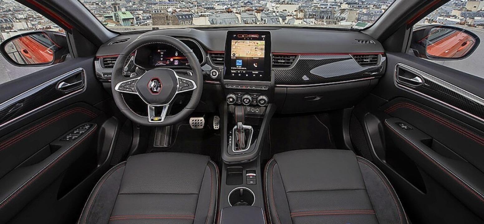 Virtuelle Anzeigen und konventionelle Schalter ergänzen sich.  | Foto: Renault