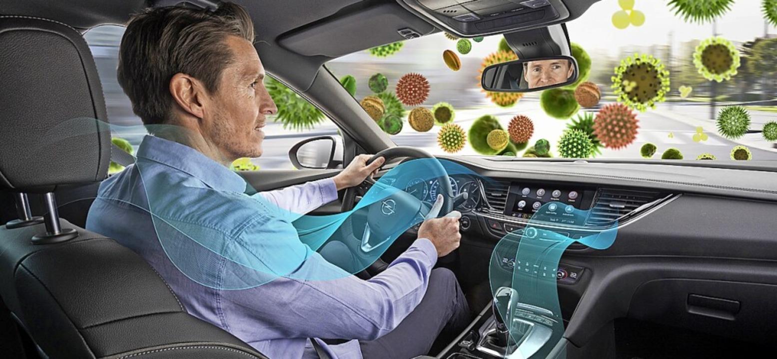 Unverzichtbar: saubere Luft im Auto  | Foto: Opel