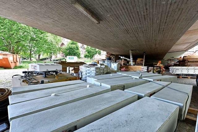 Sanierung der Freiburger Stadtbahnbrücke geht in die nächste Phase