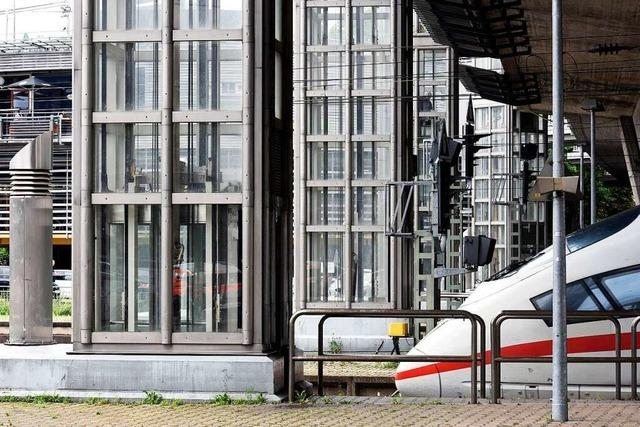 Aufzüge an der Freiburger Stadtbahnbrücke sind nun online abrufbar