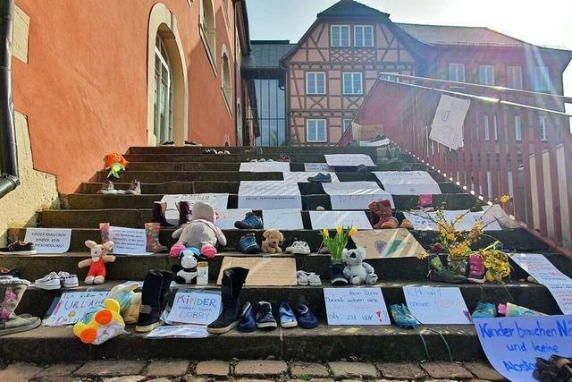 Kinderschuh-Protest in Ettenheim und Schuttertal: Das Problem der Symbolik