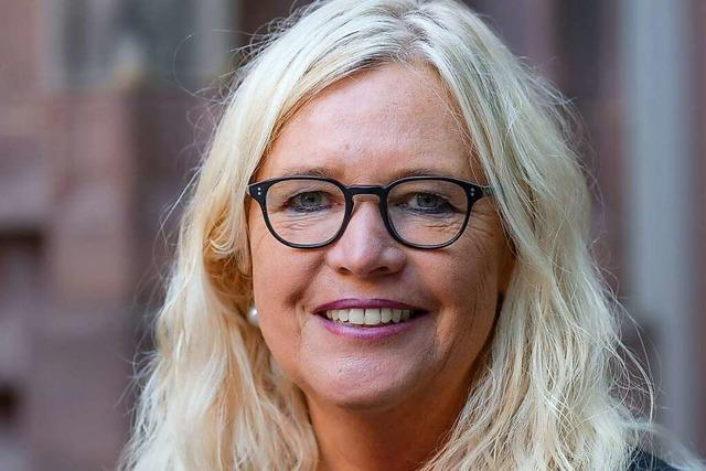 Yvonne Faller hat sich 16 Jahre lang um das Freiburger Münster gekümmert