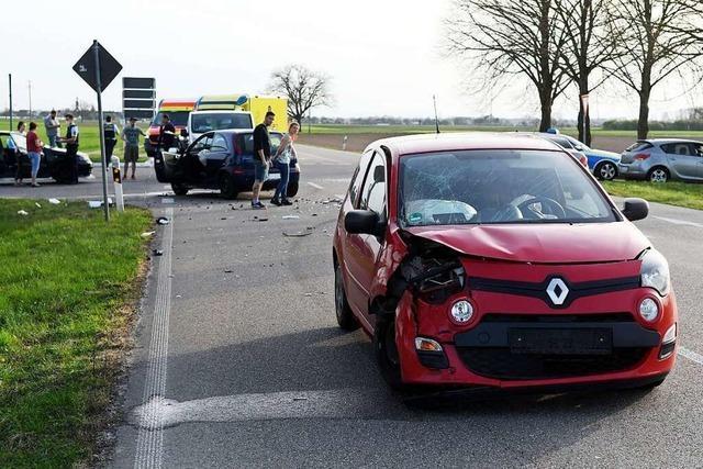 Autofahrerin wird schwer verletzt bei Unfall an der L 75