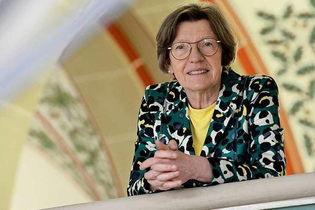 Gerda Stuchlik, die erste Frau auf der Bürgermeisterbank, geht in den Ruhestand