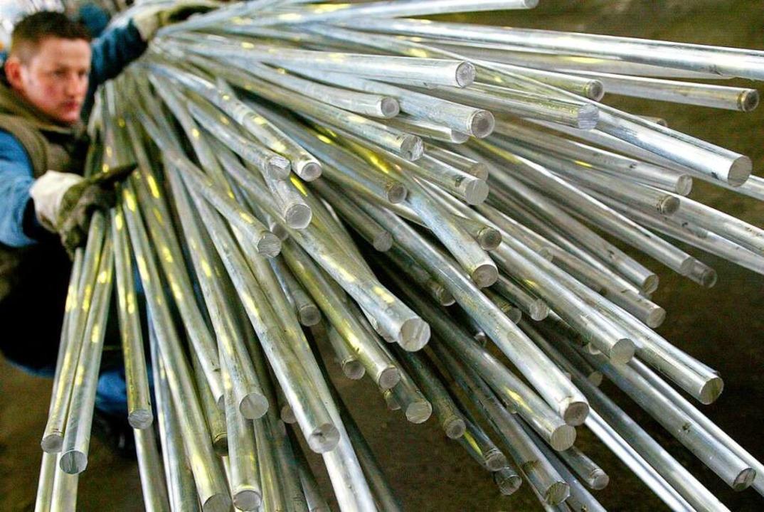 Aluminium ist wichtig für viele Industriezweige.  | Foto: Jens Wolf