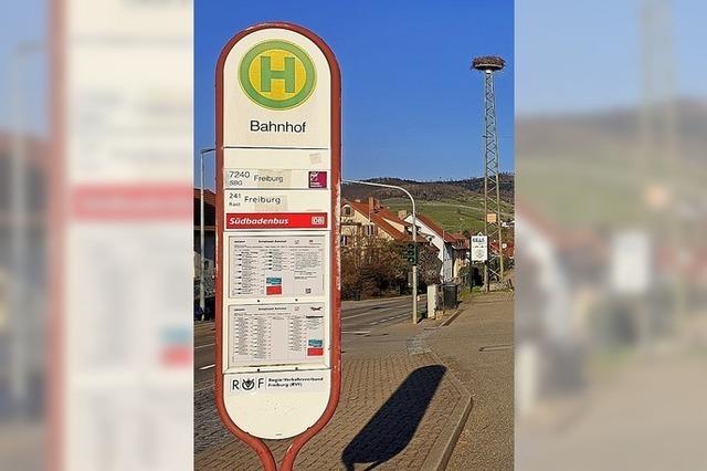 Wunsch nach zusätzlichen Bushaltestellen